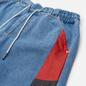 Женские шорты Tommy Jeans Colour-Blocked Panels Baggy Denim Fame Mix Light Blue Rigid фото - 1