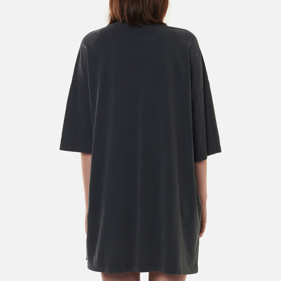 Женское платье Tommy Jeans Vintage Graphic Washed Black