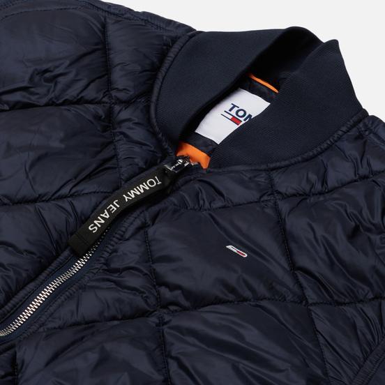 Женская куртка бомбер Tommy Jeans Essential Diamond Quilted Twilight Navy