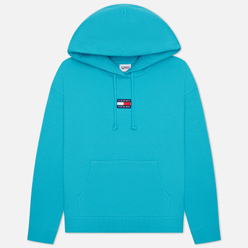 Женская толстовка Tommy Jeans Tommy Center Badge Hoodie Tidewater