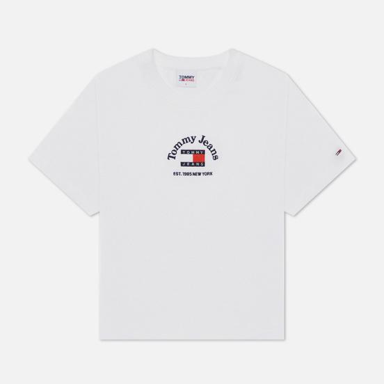 Женская футболка Tommy Jeans Boxy Crop Timeless Tommy 1 White