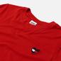 Женская футболка Tommy Jeans Regular Homespun Heart Deep Crimson фото - 1