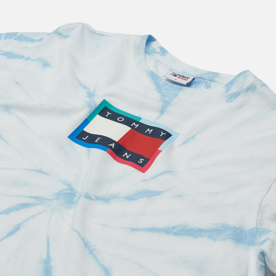 Женская футболка Tommy Jeans Tie Dye Relaxed Fit Tie Dye Print