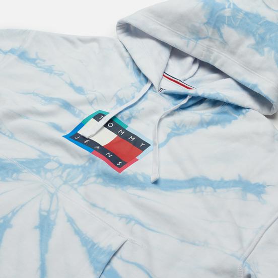 Женская толстовка Tommy Jeans Tommy Badge Tie-Dye Boxy Hoody Tie Dye Print