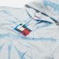 Женская толстовка Tommy Jeans Tommy Badge Tie-Dye Boxy Hoody Tie Dye Print фото - 1