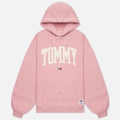 Женская толстовка Tommy Jeans ABO Collegiate Hoodie Broadway Pink