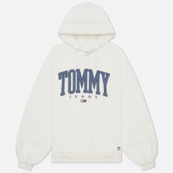 Женская толстовка Tommy Jeans ABO Collegiate Hoodie Ivory Silk