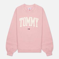 Женская толстовка Tommy Jeans ABO Collegiate Crew Neck Broadway Pink