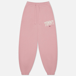 Женские брюки Tommy Jeans ABO Collegiate Broadway Pink