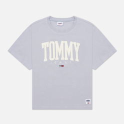 Женская футболка Tommy Jeans ABO Collegiate Lovely Lavender