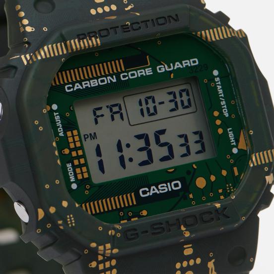 Наручные часы CASIO G-SHOCK 5600 Series Interchangeable Green/Black/Grey