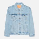 Мужская джинсовая куртка Levi's Trucker Light Stonewash фото- 0