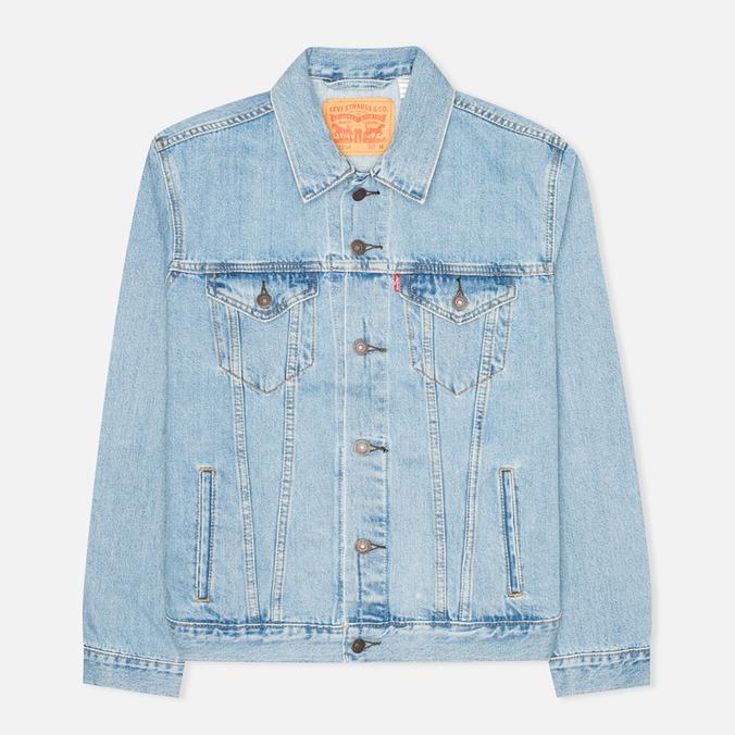 Мужская джинсовая куртка Levi's Trucker Light Stonewash