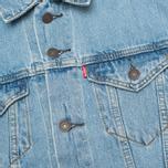 Мужская джинсовая куртка Levi's Trucker Light Stonewash фото- 3