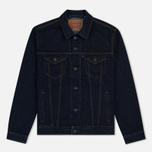 Мужская джинсовая куртка Levi's Trucker Rinse фото- 0