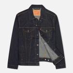 Мужская джинсовая куртка Levi's Trucker Rinse фото- 1