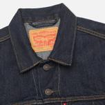 Мужская джинсовая куртка Levi's Trucker Rinse фото- 2