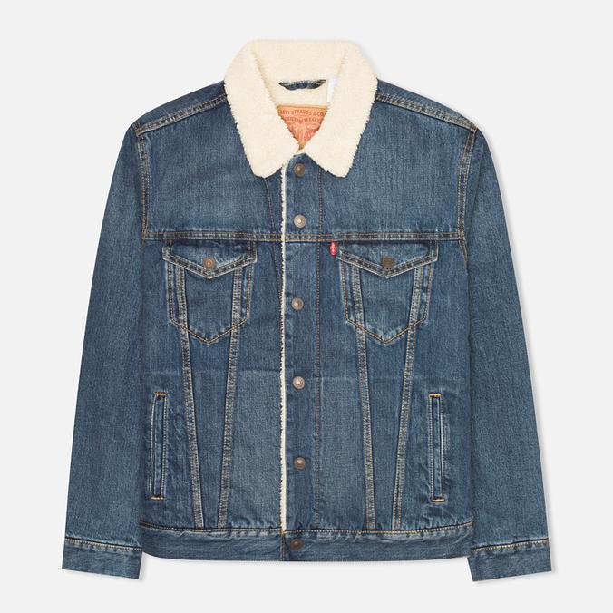 Мужская джинсовая куртка Levi's Type III Sherpa Trucker Johnny
