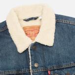 Мужская джинсовая куртка Levi's Type III Sherpa Trucker Johnny фото- 2