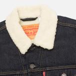 Мужская джинсовая куртка Levi's Type III Sherpa Trucker Juniper Rinse фото- 2