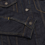 Мужская джинсовая куртка Levi's Type III Sherpa Trucker Juniper Rinse фото- 4