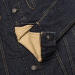 Мужская джинсовая куртка Levi's Type III Sherpa Trucker Juniper Rinse фото- 5