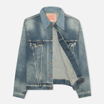 Мужская джинсовая куртка Levi's Vintage Clothing Type III Trucker Jacket Pot Tail фото- 1
