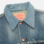 Мужская джинсовая куртка Levi's Vintage Clothing Type III Trucker Jacket Pot Tail фото- 2