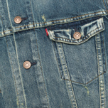 Мужская джинсовая куртка Levi's Vintage Clothing Type III Trucker Jacket Pot Tail фото- 3