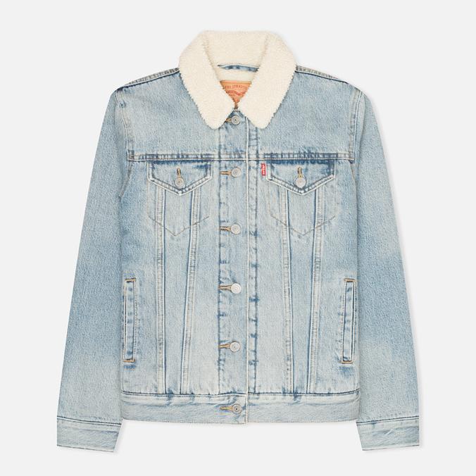 Женская джинсовая куртка Levi's Sherpa Trucker River Bank