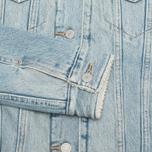 Женская джинсовая куртка Levi's Sherpa Trucker River Bank фото- 5