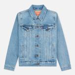 Женская джинсовая куртка Levi's Trucker Blue Cliff фото- 0