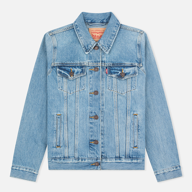 Женская джинсовая куртка Levi's Trucker Blue Cliff