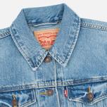 Женская джинсовая куртка Levi's Trucker Blue Cliff фото- 2