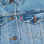 Женская джинсовая куртка Levi's Trucker Blue Cliff фото- 3