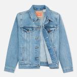 Женская джинсовая куртка Levi's Trucker Blue Cliff фото- 1