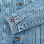 Женская джинсовая куртка Levi's Trucker Blue Cliff фото- 5