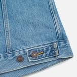 Женская джинсовая куртка Levi's Trucker Blue Cliff фото- 6