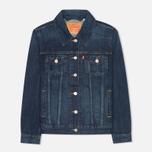 Женская джинсовая куртка Levi's Trucker Dark Fog фото- 0