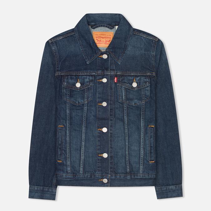 Женская джинсовая куртка Levi's Trucker Dark Fog