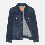 Женская джинсовая куртка Levi's Trucker Dark Fog фото- 1