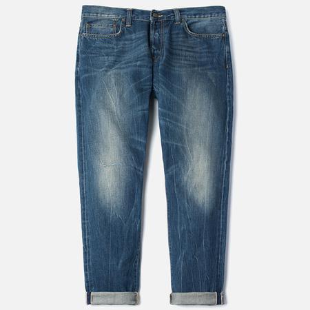 Carhartt WIP Kennedy Kasano Japanese Selvedge Men's Jeans Blue Tank Washed