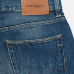 Carhartt WIP Kennedy Kasano Japanese Selvedge Men's Jeans Blue Tank Washed photo- 3