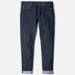 Мужские джинсы Carhartt WIP Privateer 14 Oz Rinsed Blue фото- 0