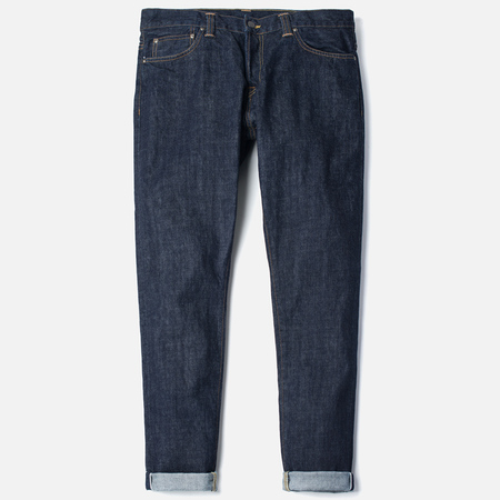 Carhartt WIP Privateer Men's Jeans Rinsed Blue