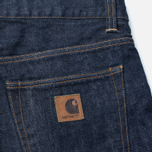 Carhartt WIP Privateer Men's Jeans Rinsed Blue photo- 3