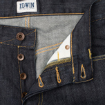 Мужские джинсы Edwin ED-47 Regular Dark Blue Rinsed фото- 2