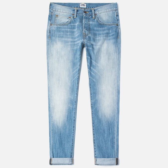 Edwin ED-55 Relaxed Tapered Men's Jeans Dark Blue Haze Used