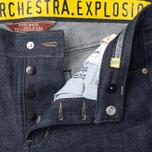 Мужские джинсы Grunge John Orchestra. Explosion 8M1/1 Dark Blue фото- 3