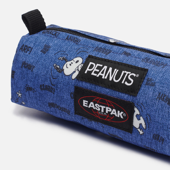 Пенал Eastpak x Peanuts Benchmark Single Snoopy Navy